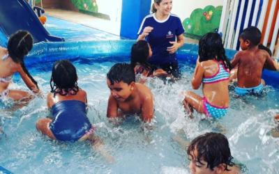 Dia de Piscina para a Turminha do Infantil